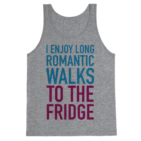 Long Romantic Walks Tank Top