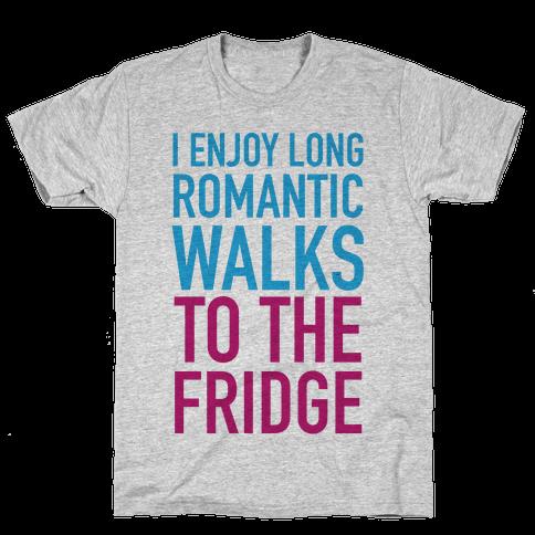 Long Romantic Walks Mens T-Shirt
