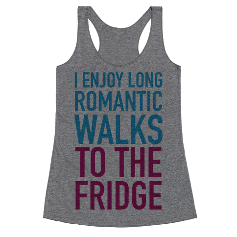 Long Romantic Walks Racerback Tank Top