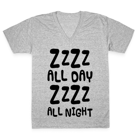 ZzZz All Day V-Neck Tee Shirt