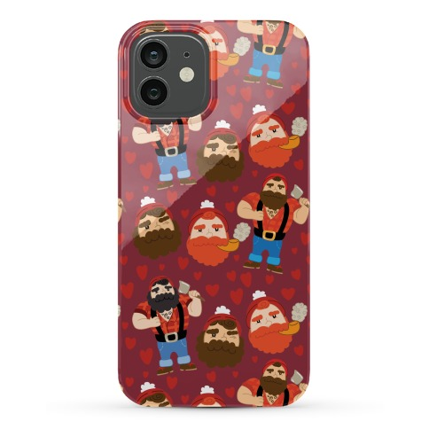 Lumberjack Love Phone Case