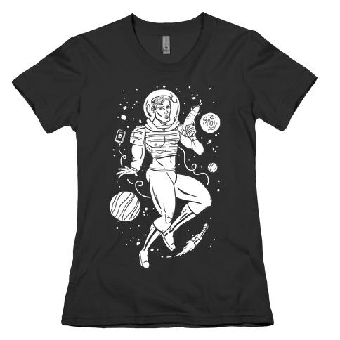 Gaylactic Warrior Womens T-Shirt