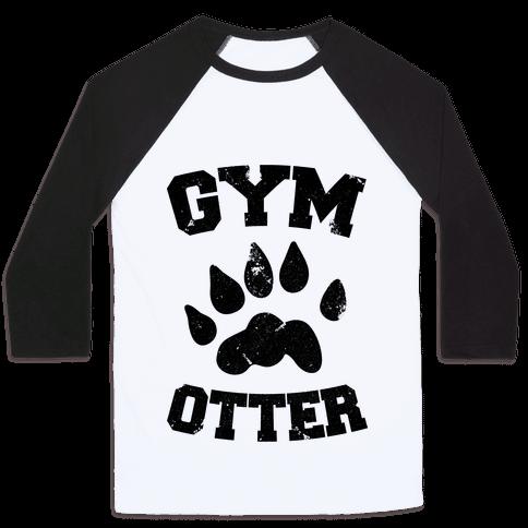 Gym Otter Baseball Tee