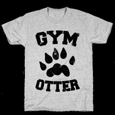 Gym Otter Mens T-Shirt