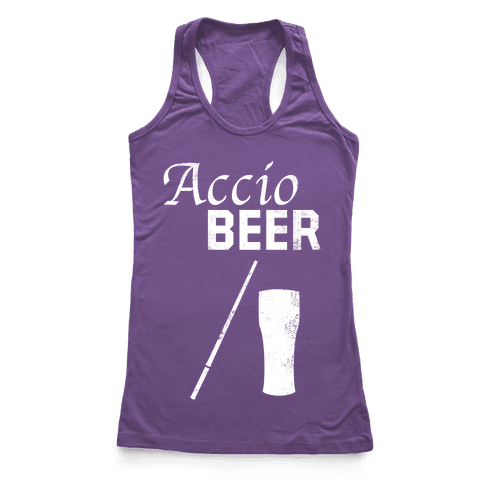 Accio BEER Racerback Tank Top