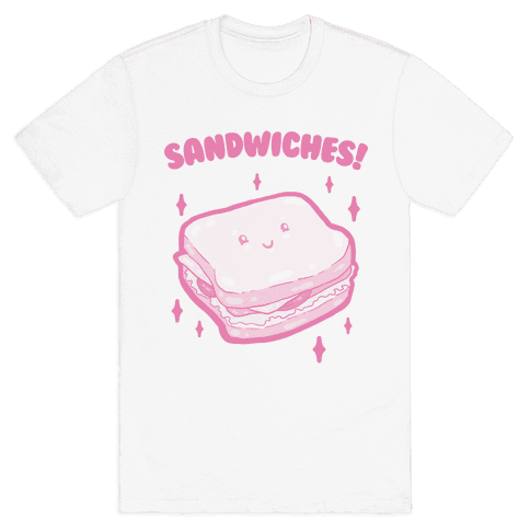 Sandwiches! (two of two) Mens T-Shirt