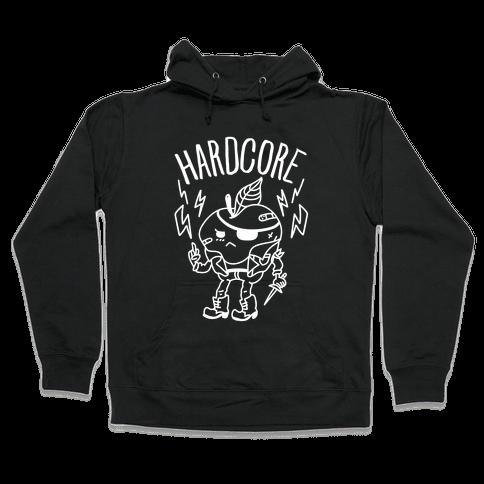 Hardcore Apple Hooded Sweatshirt