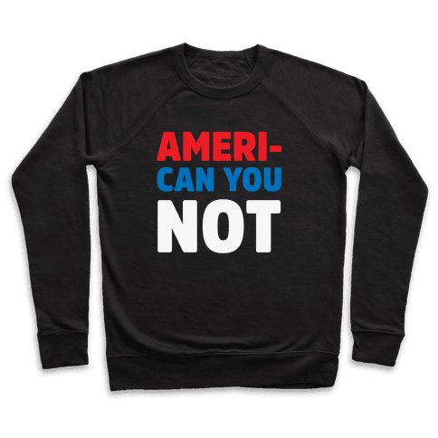 Ameri-Can You Not Pullover