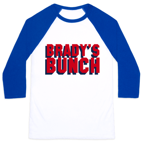 Brady's Bunch Baseball Tee
