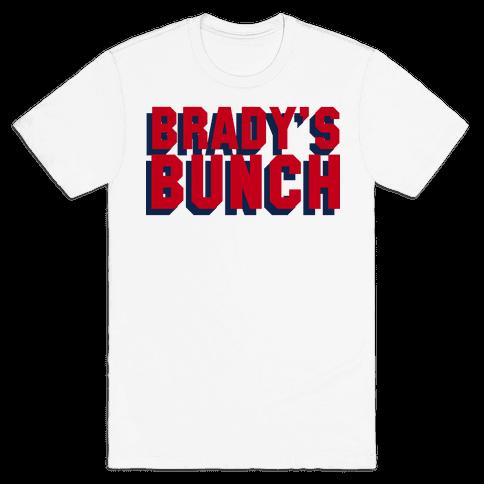 Brady's Bunch Mens T-Shirt