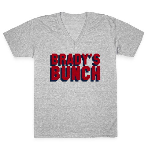 Brady's Bunch V-Neck Tee Shirt