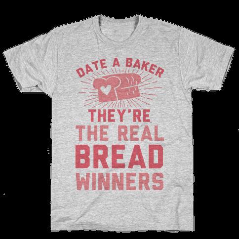 Date A Baker Mens T-Shirt