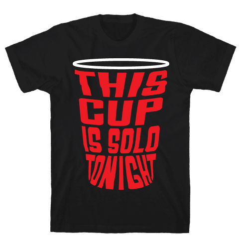 This Cup is Solo Mens T-Shirt
