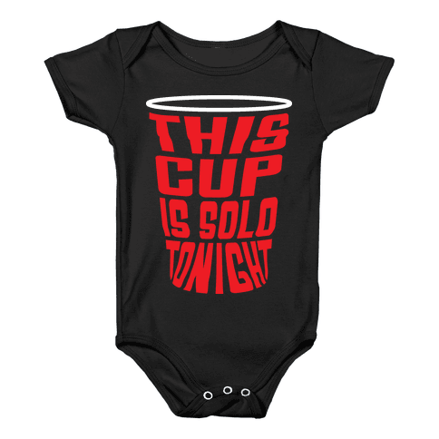 This Cup is Solo Baby Onesy