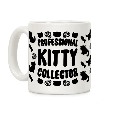 Professional Kitty Collector Coffee Mug