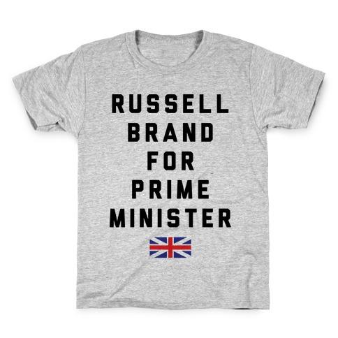Russel Brand For Prime Minister Kids T-Shirt