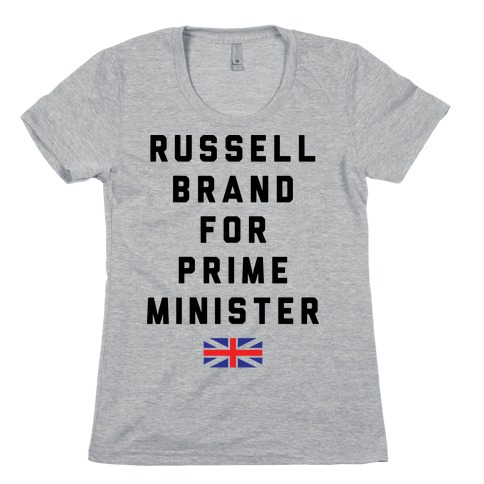 Russel Brand For Prime Minister Womens T-Shirt