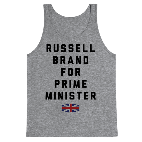 Russel Brand For Prime Minister Tank Top