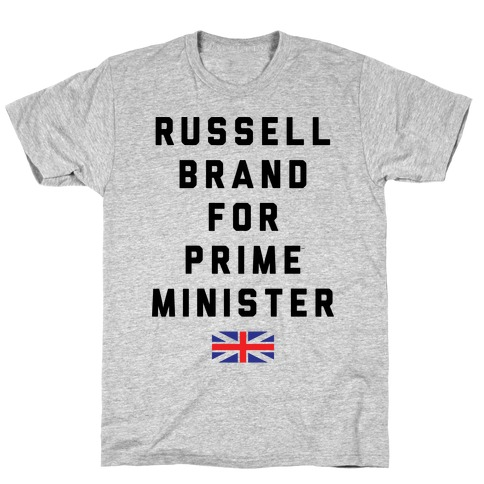 Russel Brand For Prime Minister Mens T-Shirt