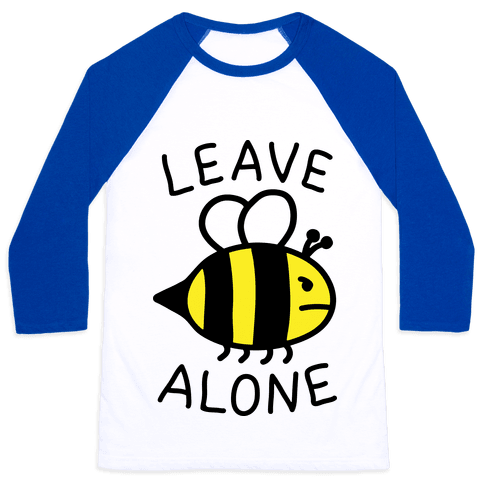 Leave Bee Alone Baseball Tee