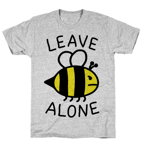 Leave Bee Alone Mens T-Shirt