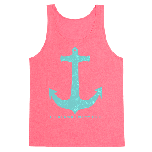 Jesus Anchors My Soul Tank Top