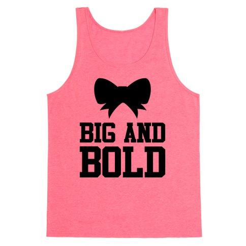 Big And Bold Tank Top