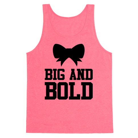 Big And Bold Tank Top