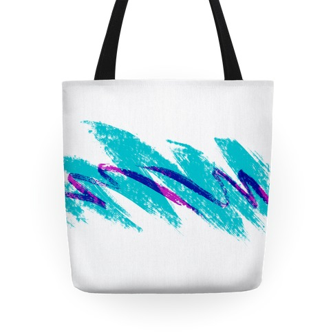 90s Jazz Wave Tote