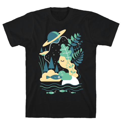 Deep Space Diving Mens T-Shirt
