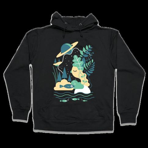 Deep Space Diving Hooded Sweatshirt