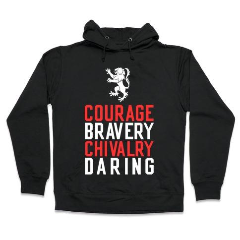 Gryffindor Qualities Hooded Sweatshirt