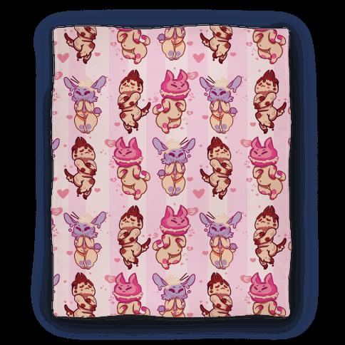 Kawaii Chibi Desserts Blanket