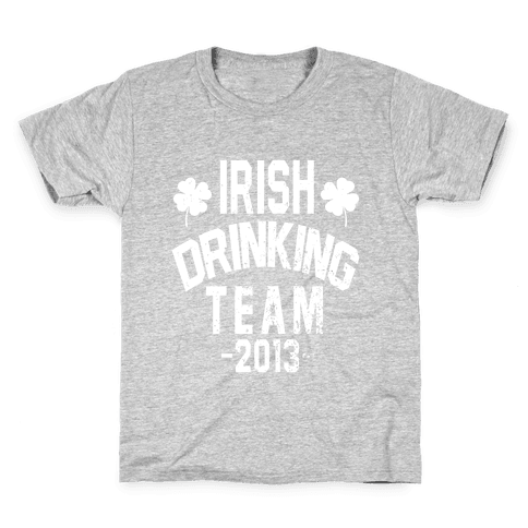 Irish Drinking Team 2013 Kids T-Shirt