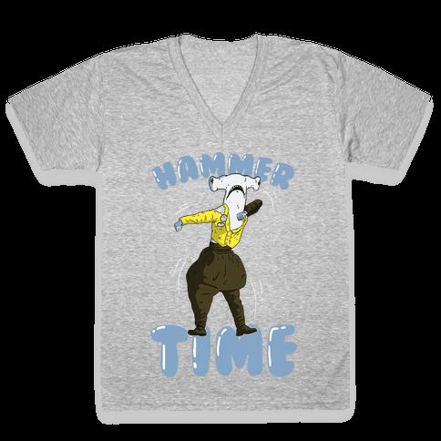 Hammer Time! V-Neck Tee Shirt