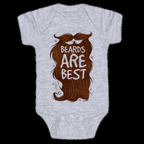 Beards Are Best Baby Onesy