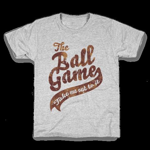The Ball Game Kids T-Shirt