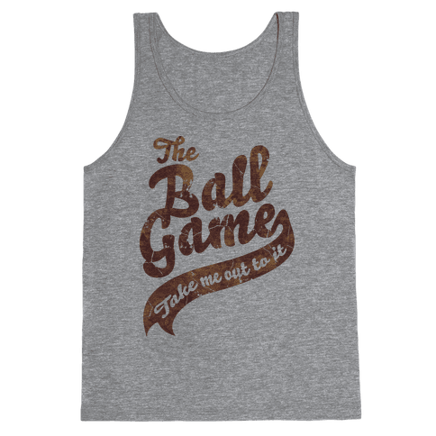 The Ball Game Tank Top