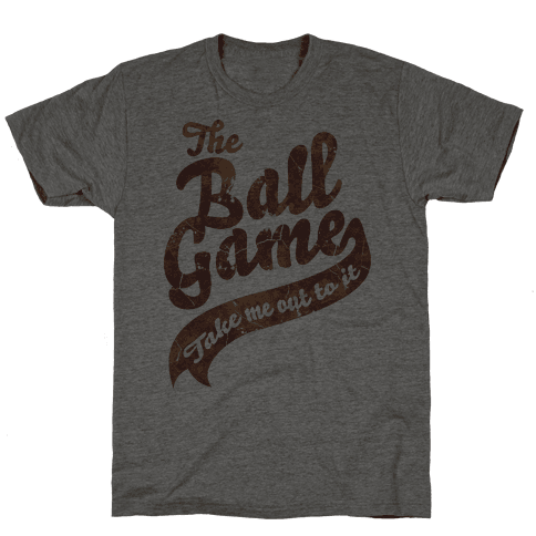 The Ball Game Mens T-Shirt