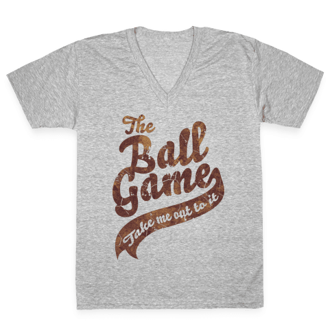 The Ball Game V-Neck Tee Shirt