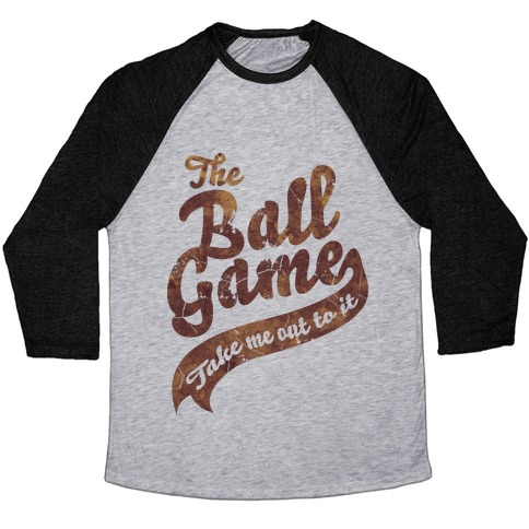The Ball Game Baseball Tee