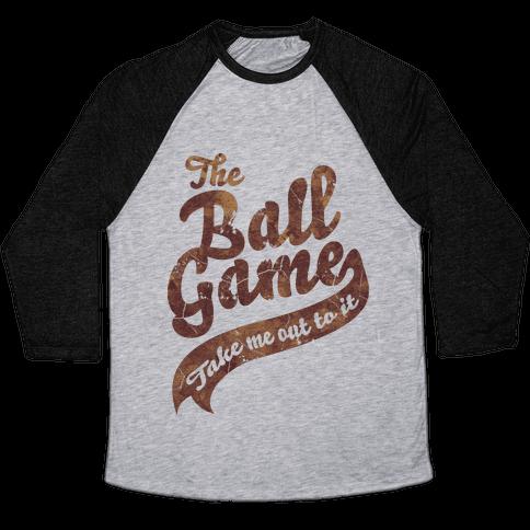 The Ball Game Baseball Tee
