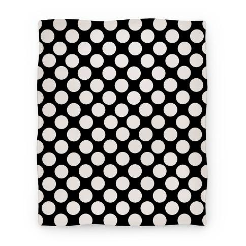 Polka Dot Blanket (White) Blanket
