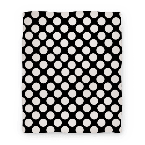 Polka Dot Blanket (White)