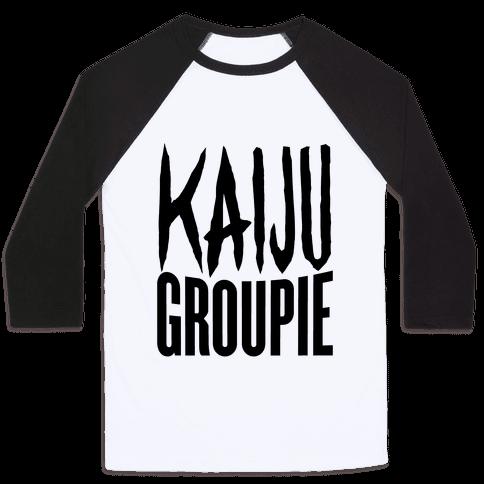 Kaiju Groupie Baseball Tee