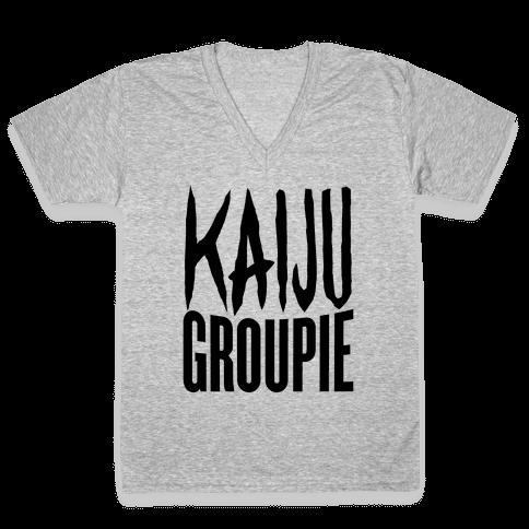 Kaiju Groupie V-Neck Tee Shirt