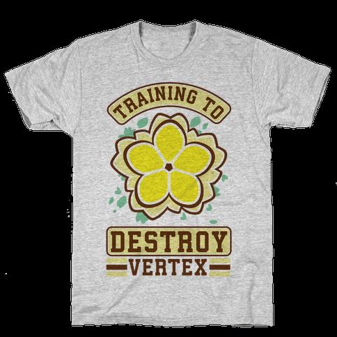 Training to Destroy Vertex Fu Mens T-Shirt