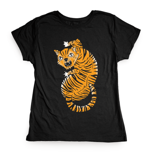 The Ferocious Tiger Womens T-Shirt