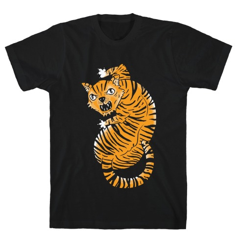 The Ferocious Tiger Mens T-Shirt