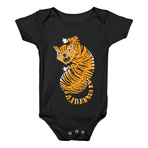 The Ferocious Tiger Baby Onesy